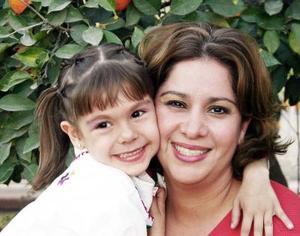 Gaby García de Mendoza festejó a su pequeña Gaby Mendoza García, con una  fiesta  con motivo de su sexto cumpleaños.