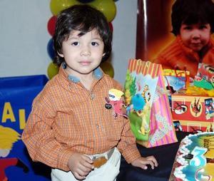 Gonzalo Ávila Medina festejó su cumpleaños, con una divertida  fiesta infantil hace unos días.