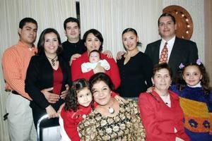 Reunión de las familias De la Torre Carreño, De la Torre Ramírez, Gonzálea Álvarez, Domínguez Ramírez y Aguilar Ramírez.