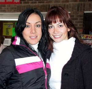 Janeth Robles y Sofía Ramos.