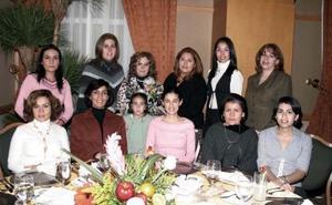 <b>29 de enero de 2005</b> <p> Melby Ruiz, Citlali Espino, Anette de Rodríguez, Verónica Martínez, María Luisa Villarreal, Isela de Santiago, Luly Campa,Ale Fernández, Gaby Castrellón, María Luisa Díaz.