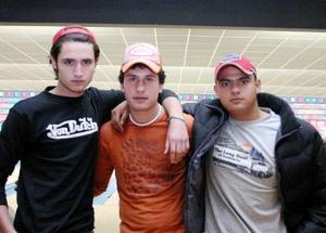 Christian Jardón, Roberto Massa, Erasmo Alaguez