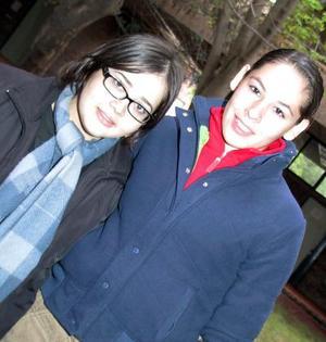Claudia Gómez y Pamela Navarro.