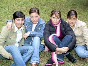 Diana Gurrola, Christian Mata,  Sheissy Arroyo y Sylvia Mata