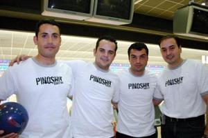 Diego, Dropy, Ángel e Ismael