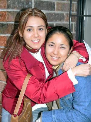 Evelyn Anguiano y Lorena Hernández