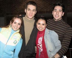 Linda Aldape, Enrique Castro, Chitza Zazueta, Fabián Rosas.