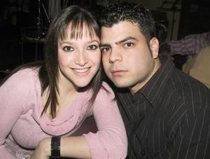Fabiola Sotoluján y Alejandro Marín.