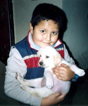 Luis Alonso Ramos Loza festejó  su noveno cumpleaños.