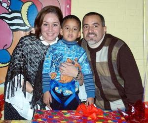 icolás Navarro recibió una fiesta con motivo de sus  seis años de vida
