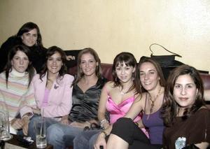 Marcela Vega,  Gisela Fernández, Salvia  López Faudoa,  Celina López, Liliana  Gilio, Denise Dibildox y Ana Portillo de Lara.