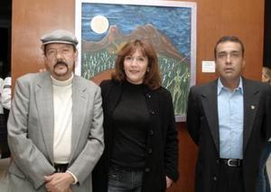 Jose Luis Aguilera, Adriana Velaázquez y Jorge  Palacios.