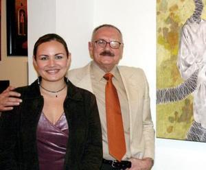 Sergio Chapoy y su sobrina Érika Chapoy