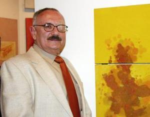Sergio Chapoy presentó su obra.