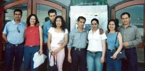 <b>31 de enero de 2005</b> <p> Eduardo Peralta, Xóchitl Castro, Gerardo Pulido, Zulema Cortés, Efrén Barraza, Gloria Aguirre, Mayela Santacruz y Javier Lozano