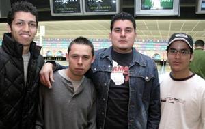 <b>31 de enero de 2005</b> <p>  Jayme Silor, Jorge Sabalza, Emilio García y Gabriel García