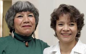 Ángeles Ibarra y Mónica Duarte