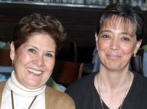 Claudia de Gutiérrez e Irma de Gómez