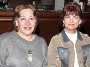 Imelda de Prieto y Dora de Leázquez