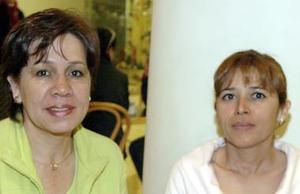Lety de Castro y Paty de Zermeño