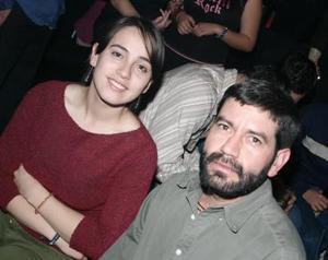 Isabel Jáuregui y Justino Calderón.