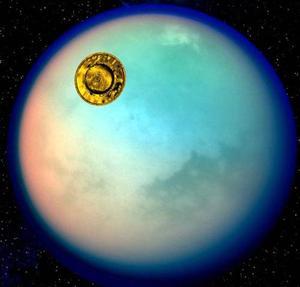 Funcionarios espaciales europeos desplegaron las primeras fotos de Titán, la luna más grande de Saturno.