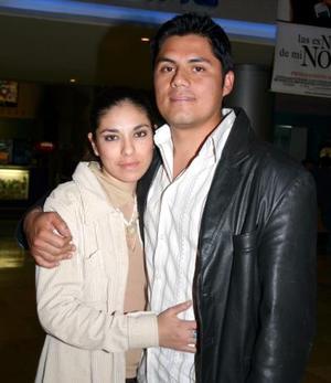Yolanda Martínez y Antonio Trejo.