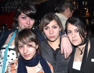 Any Mijares, Byanca padilla, Cecy Marínez y Lorena Vega.