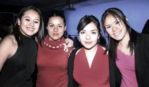 Lorena, Fernanda, Karla y Alejandr