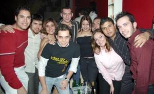 Álvaro, Tere, Juan, Ángel, Rocío, Pedro, Brenda, Jorge, Orlando y Érick.