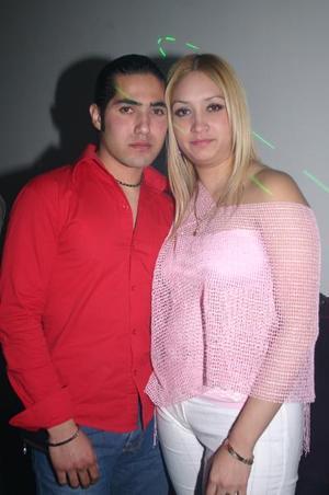S- Claudia Samaniego y Jorge Jáquez Barajas.