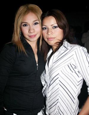 Nataly Cardiel  y Génesis Orozco.