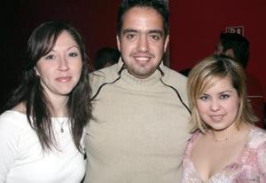 Susana Barrera, Jorge Samaniego y Ana Laura Márquez.