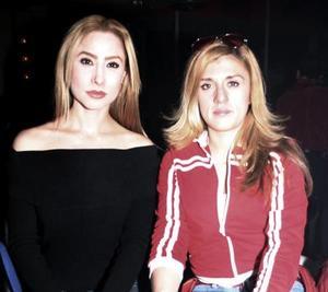 <b>22 de enero de 2005</b> <p> Nadia Zarzosa y Mónica Segura.