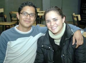 Manuel Ramírez y Alma Lorena Vázquez.