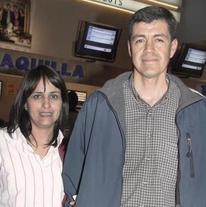 Ana Tere y Jesús Ramírez.