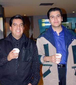 Adán Guzmán y Antonio Chávez.