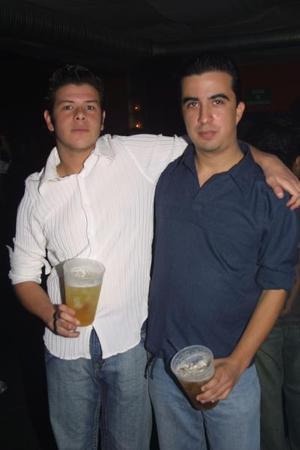 Polo Cuesta y Pepe Garza.