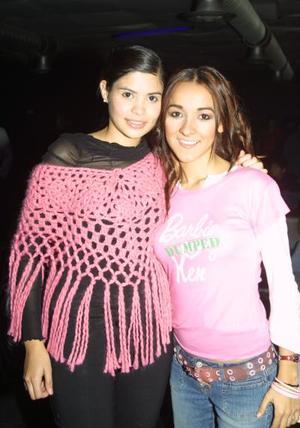 <b>14 de febrero de 2005</b> <p>  Talía Gutiérrez y Pris Mourey.