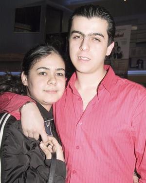 Karina Jaidar y Gerardo Cuesta.
