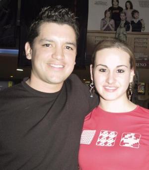 Luzma Acuña y Roberto Barranca