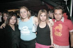 Karina, Lilian, Eder y Génesis.