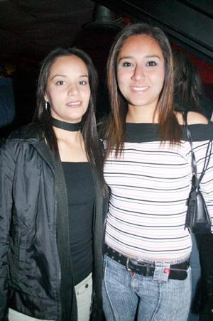 <b>14 de marzo de 2005</b> <p> Ale Escobedo y Claudia Hernández.