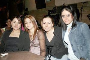 Cinthia, Iliana, Claudia y Lorena