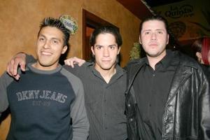 Julio Osvaldo Padilla, Alejandro Carreño y Ángel Segovia.