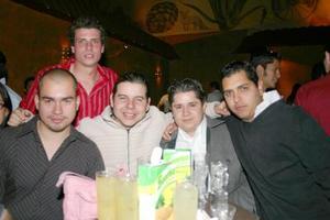 Luis Galindo, Aris Kotsifakis, Carlos Caballero, Pepe Caballero y Jerson Bakman