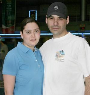 Maye Garza y Eduardo Garza.