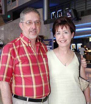 Eduardo Valencia y Dulce María de Valencia.