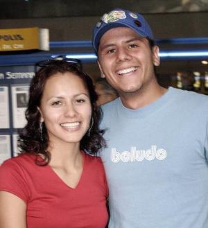 Emmanuel Rodríguez e Isabel Martínez.