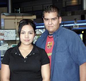 Sandra Armendáriz y Gerardo Rodríguez.